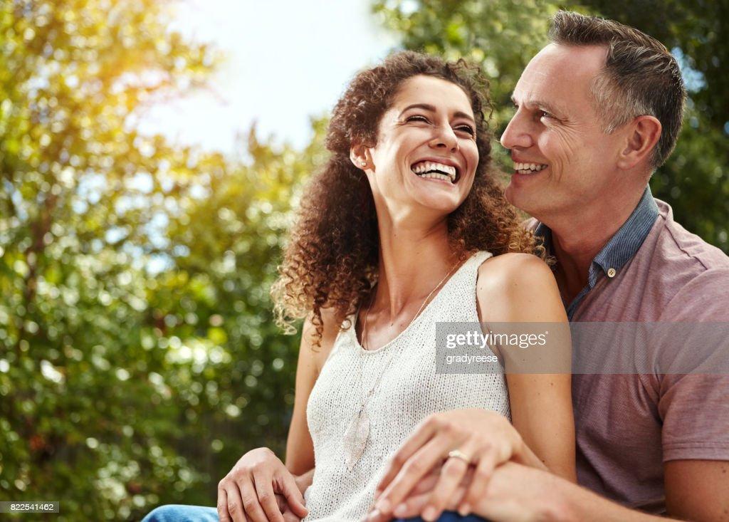 Love is a wonderful feeling : Stock Photo