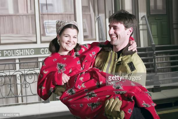 PROVIDENCE 'Love Is in the Air' Episode 21 Air Date Pictured Paula Cale as Janice 'Joanie' Hansen Jon Hamm as Burt Ridley Photo by Paul...