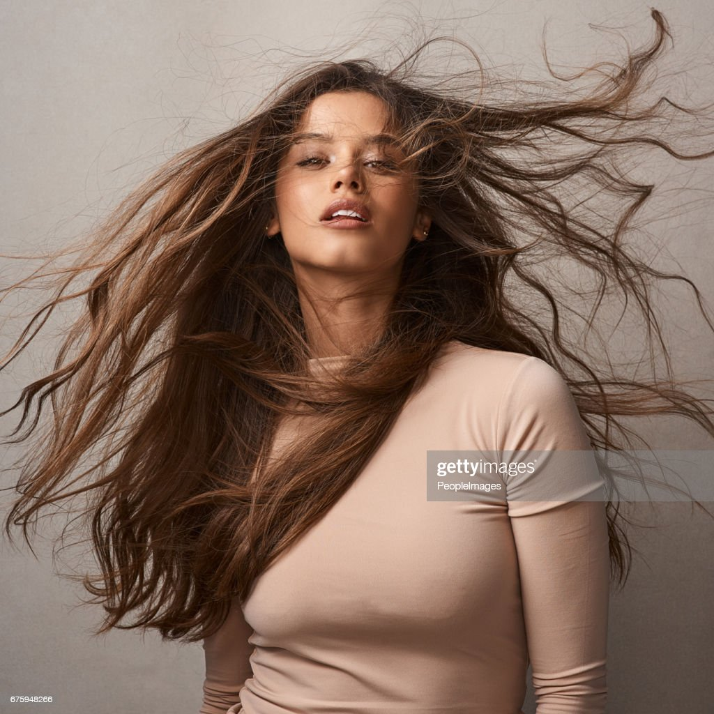 Love is in the hair : Stock Photo