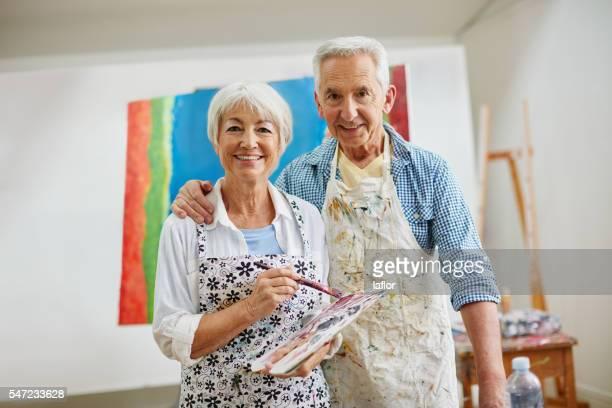Love is the spirit that motivates the artist's journey