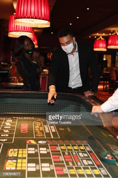 "Love Island"" U.S. Season two winners, Justine Ndiba and Caleb Corprew have first roll of the dice at the reopening of The Cromwell, the final strip..."