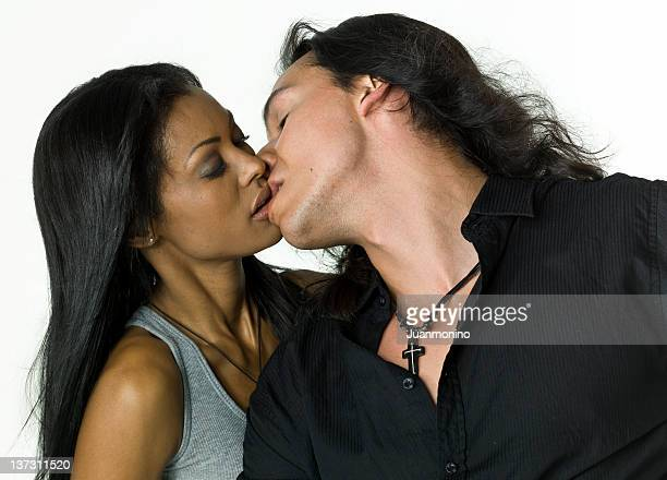 love kiss - kissing photos stock photos and pictures