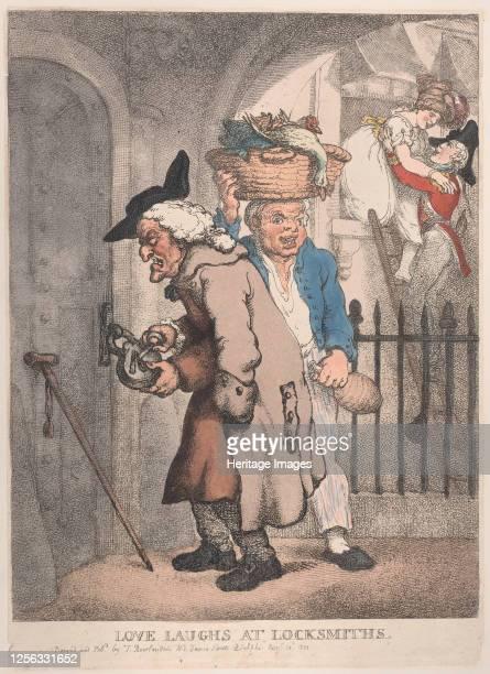 Love Laughs at Locksmiths August 20 1811 Artist Thomas Rowlandson