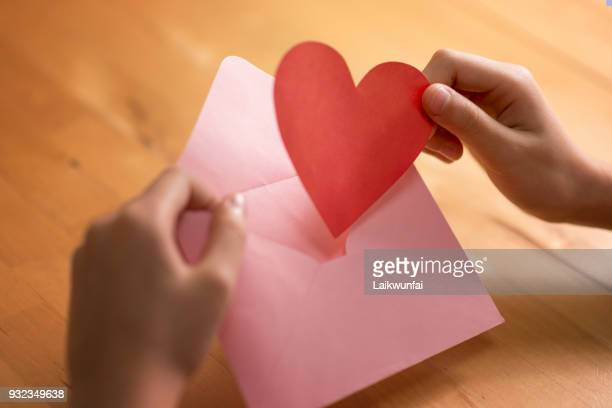 love letter - love letter stock photos and pictures