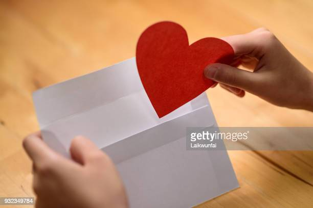 carta de amor - responder - fotografias e filmes do acervo