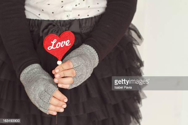 love letters - 指なし手袋 ストックフォトと画像