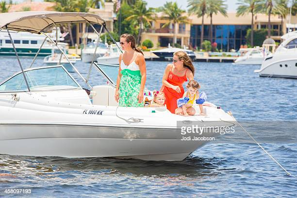 Love Local:  Boating on the ocean
