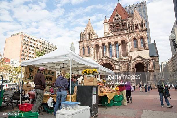 Love local:  Open air market in Boston, Massachusetts  RM