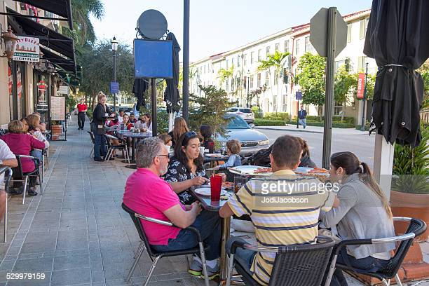 Love Local:  Outdoor eating at West Palm Beach restaurant