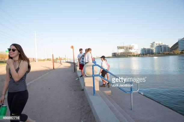 Love Local: Teens along Salt River in Tempe, Arizona