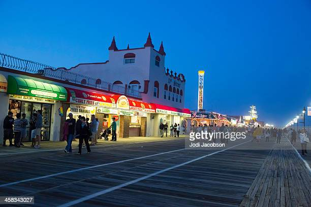 Love Local-Boardwalk, Ocean City New Jersy USA at Golden Hour