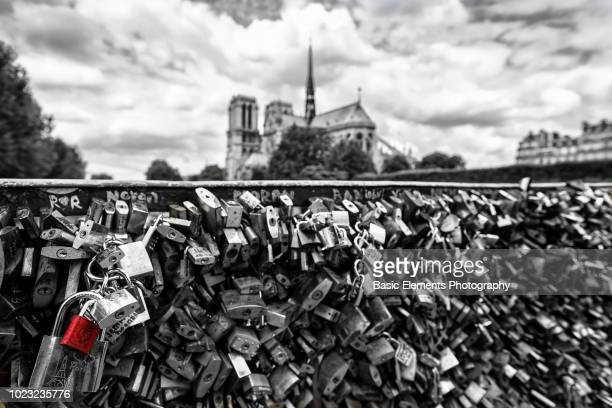 love locks - isolated color stock pictures, royalty-free photos & images