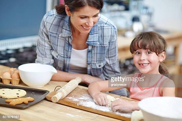 I love mom like milk loves cookies