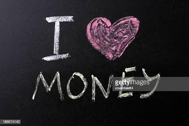 I Love Money Text