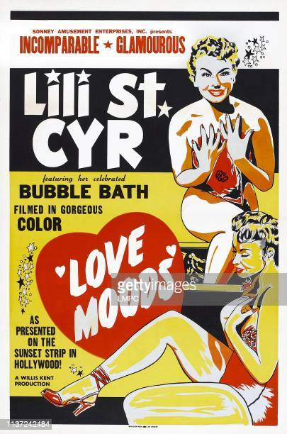 Love Moods poster US poster art Lili St Cyr 1952