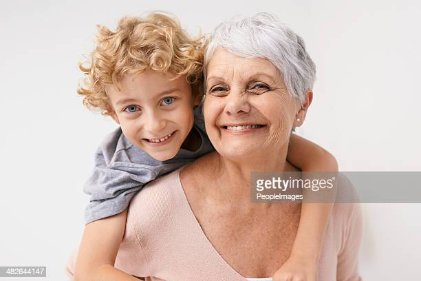 i love my gran! - grandmother stock pictures, royalty-free photos & images