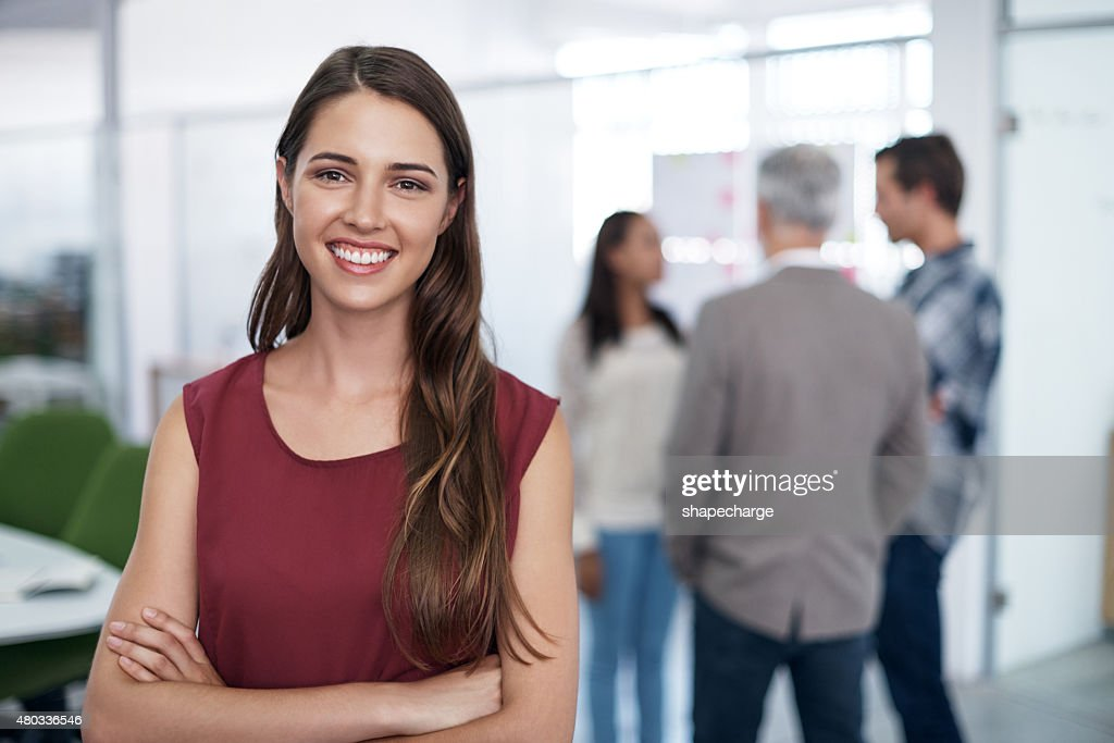 I love my job : Stock Photo