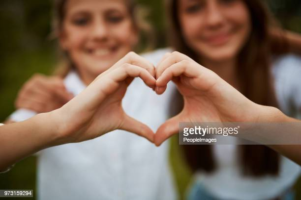 i love my sister - heart shape stock pictures, royalty-free photos & images