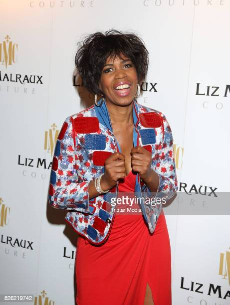 Love Newkirk during the Liz Malraux Fashion Show Autumn/Winter 201718 at Hotel Atlantic on August 3 2017 in Hamburg Germany