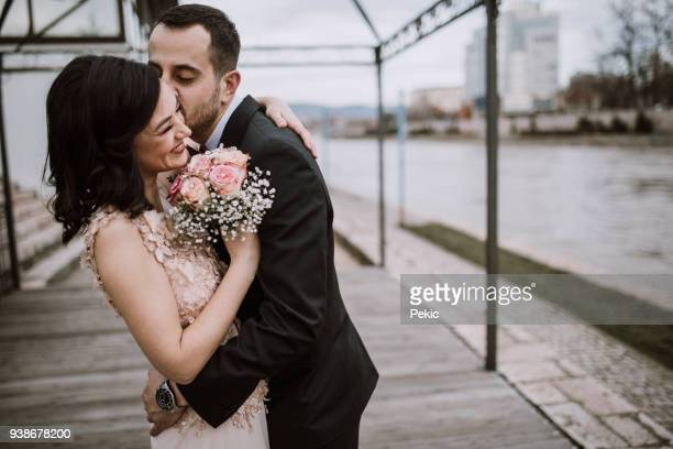 love of my life - bridegroom stock pictures, royalty-free photos & images