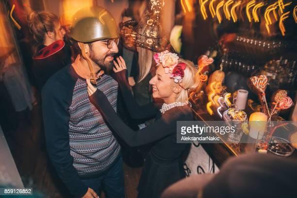 Amor en una fiesta de Halloween