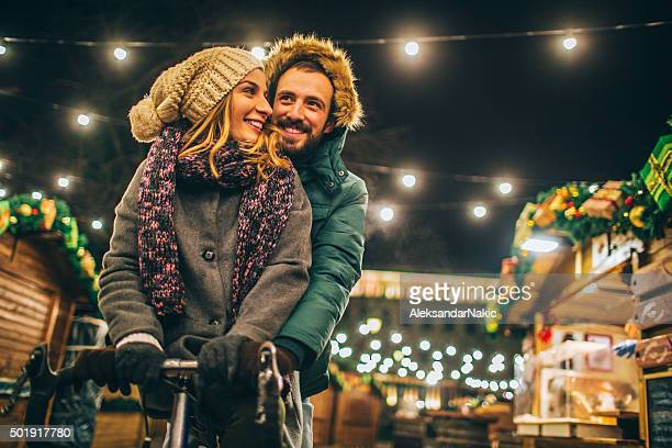 Love on Christmas market