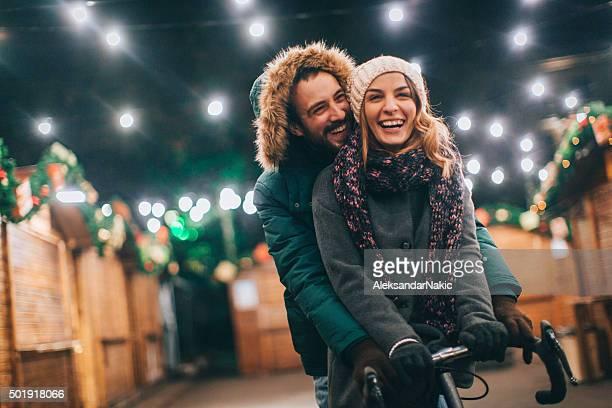 Liebe auf dem Weihnachtsmarkt