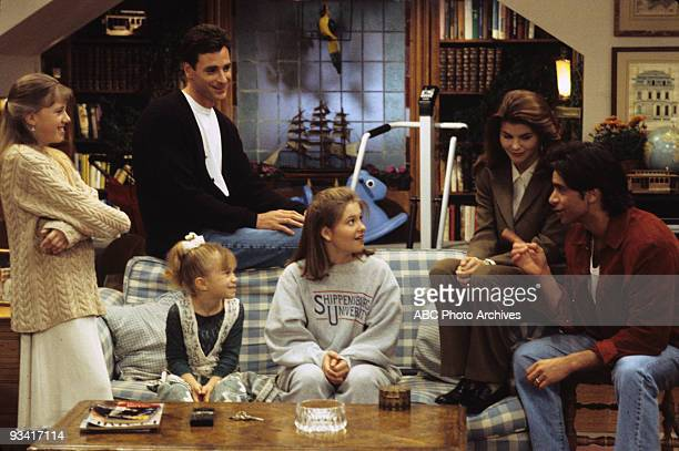 HOUSE Love on the Rocks Season Seven 3/1/94 Stephanie Danny Michelle DJ Rebecca and Jesse planned an attack on Joey after he played pranks on them
