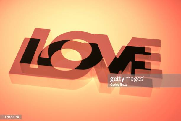 love - typographies stock photos and pictures