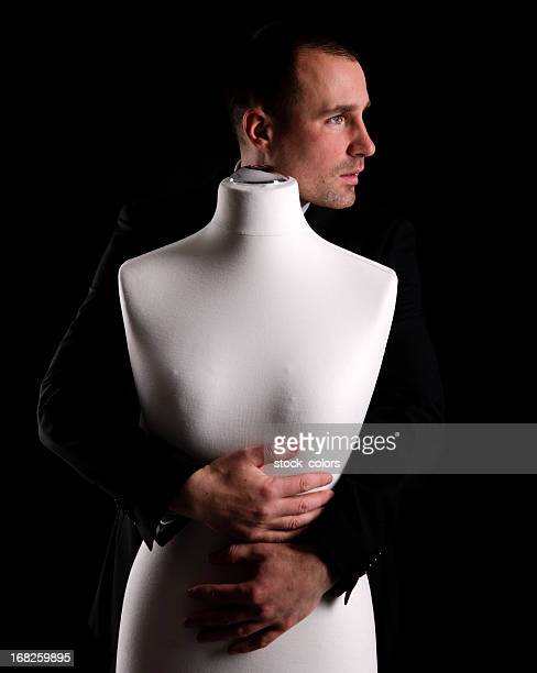 love - headless man stock pictures, royalty-free photos & images