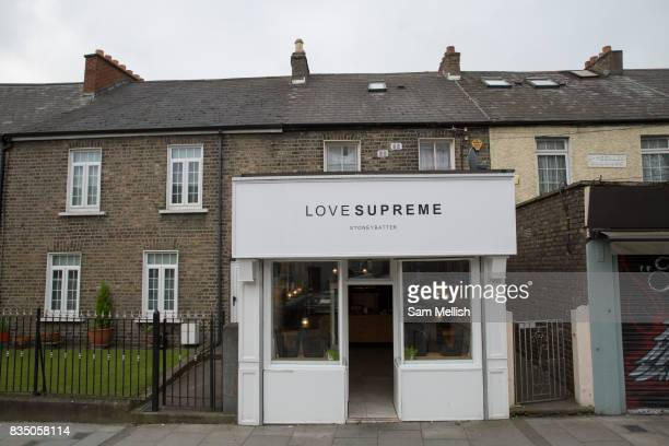 Love Supreme Coffee In Stoneybatter on 07th April 2017 in Dublin, Republic of Ireland. Dublin is the largest city and capital of the Republic of...