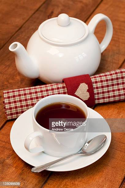 i love tea - andrew dernie photos et images de collection