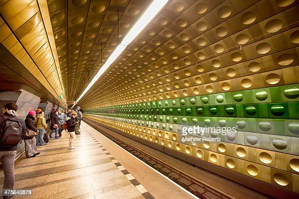CONTENT] I love these bizarre metro stations in Prague The patterns in the station wall are very funky and are pretty interesting when it comes to...