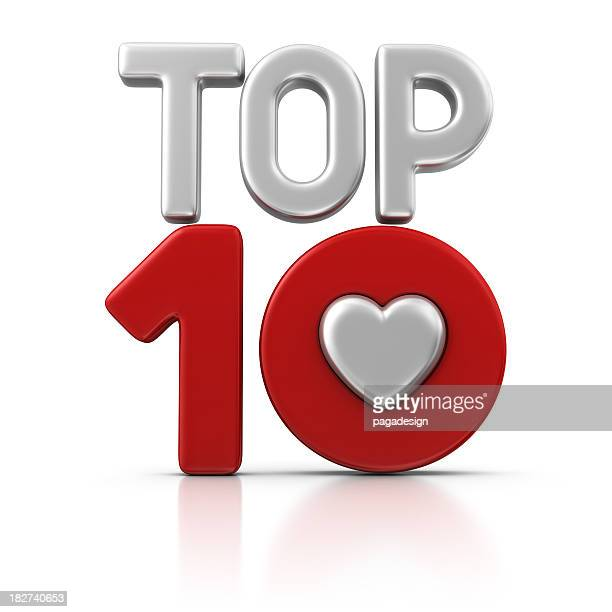 love top ten - high section stock pictures, royalty-free photos & images