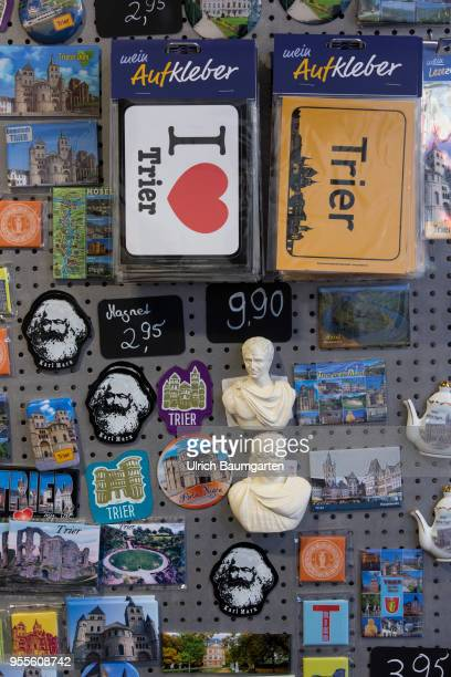 I love Trier souvenirs such as postcards everything about Karl Marx or replicas of Roman emperors there is something for every taste