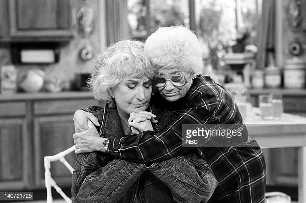 GIRLS Love Under the Big Top Episode 5 Pictured Bea Arthur as Dorothy Petrillo Zbornak Estelle Getty as Sophia Petrillo Photo by Jean Krettler/NBCU...