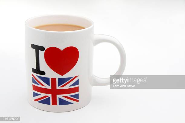 I love United Kingdom on mug with copyspace
