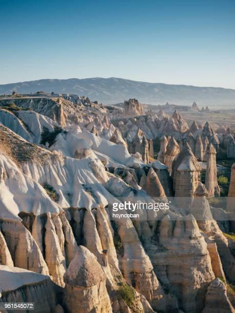 love valley goreme cappadocia - cappadocia stock pictures, royalty-free photos & images