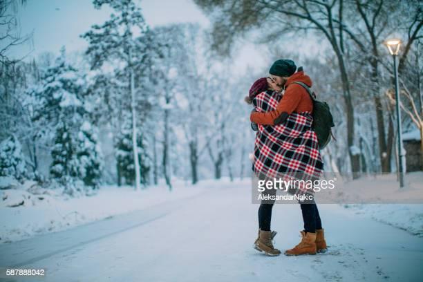 Liebe hält Sie warm