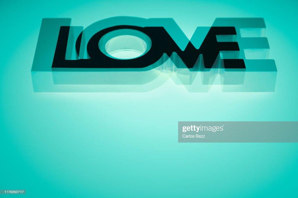 Love word : Stock Photo