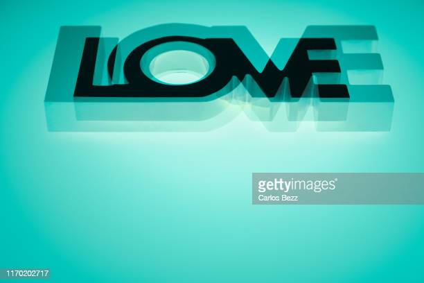 love word - typographies stock photos and pictures