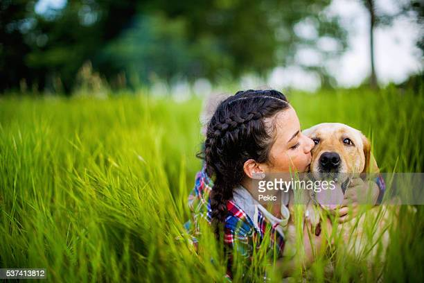 i love you cutie! - canine stock pictures, royalty-free photos & images