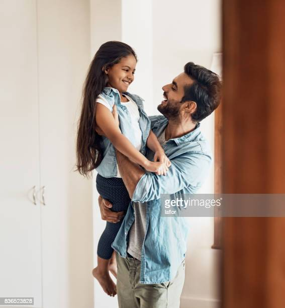 i love you my sweetheart! - single father stock pictures, royalty-free photos & images