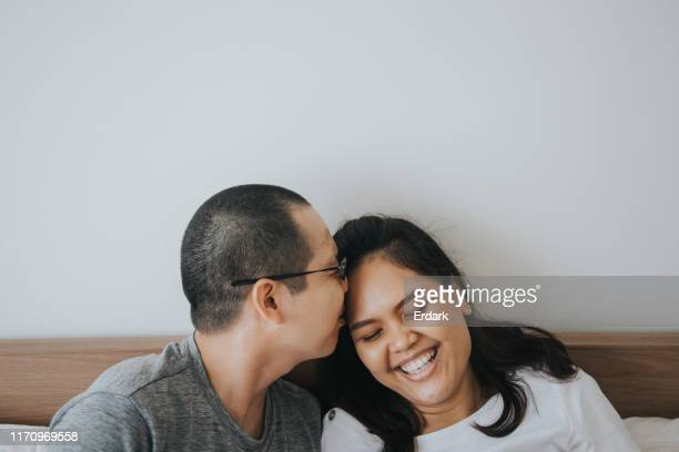i love you my wife - affectionate stock pictures, royalty-free photos & images
