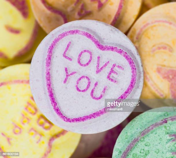 Love You Valentine's Day Candy Hearts