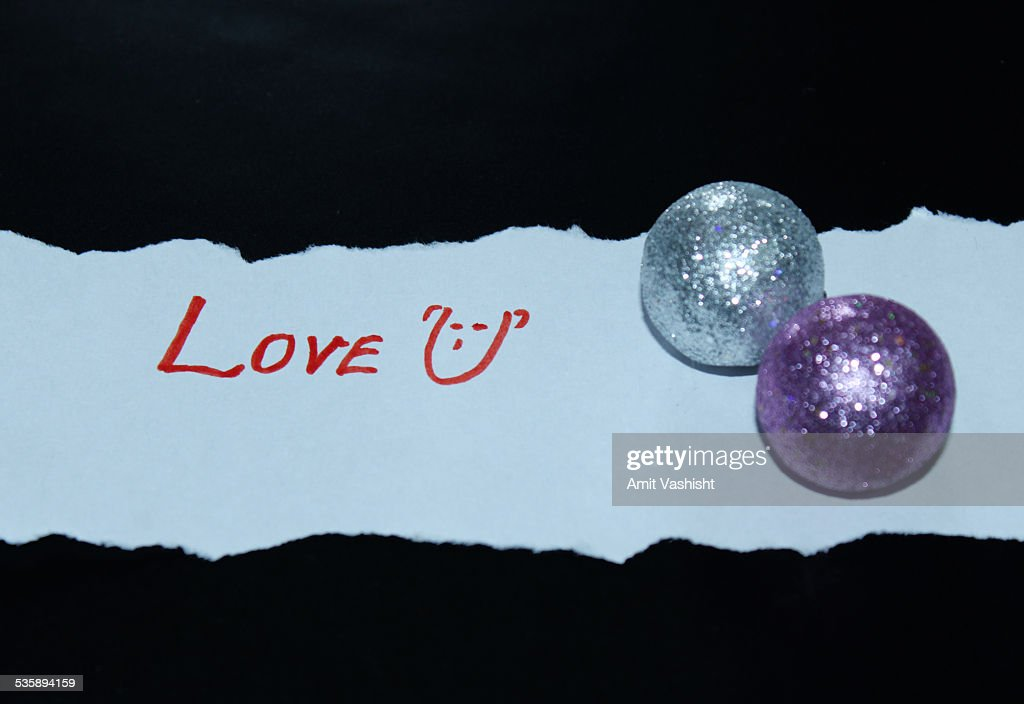 Love You with Shining : Stock Photo