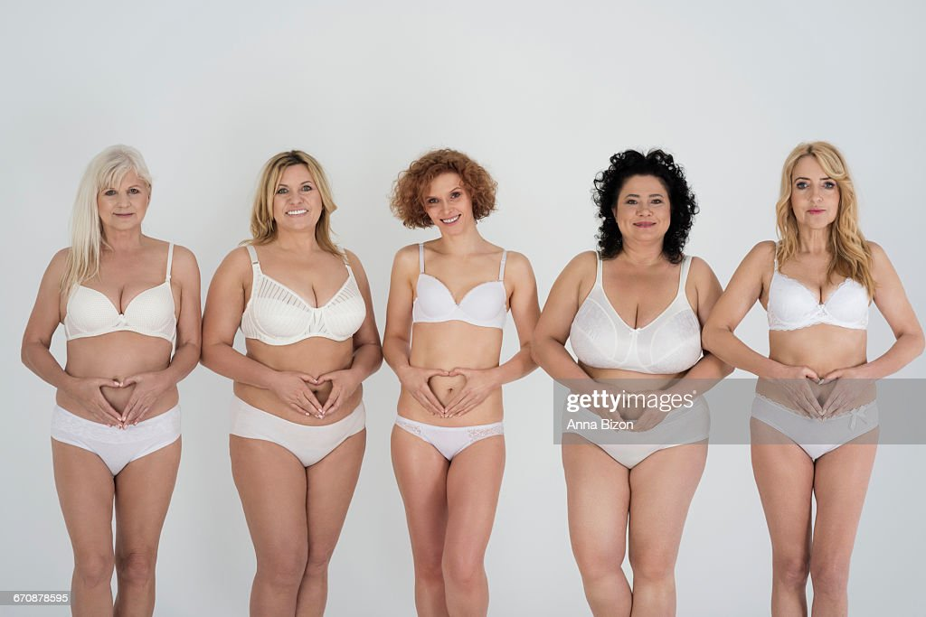 Love your body even when its not perfect. Debica, Poland : Stock Photo