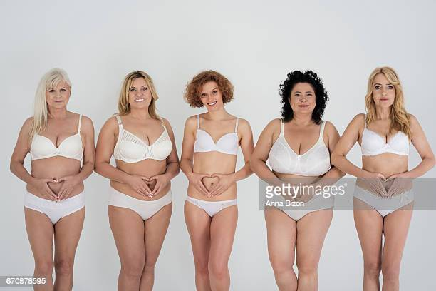 love your body even when its not perfect. debica, poland - perfect female body shape stock photos and pictures