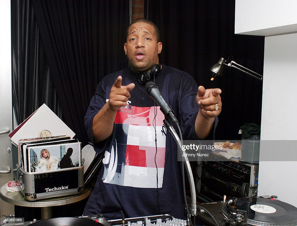 Lovebug Starski during House of Courvoisier and Phat Farm presents the Phat Classics Flavas Party New York City at Villa in New York City, New York, United States.
