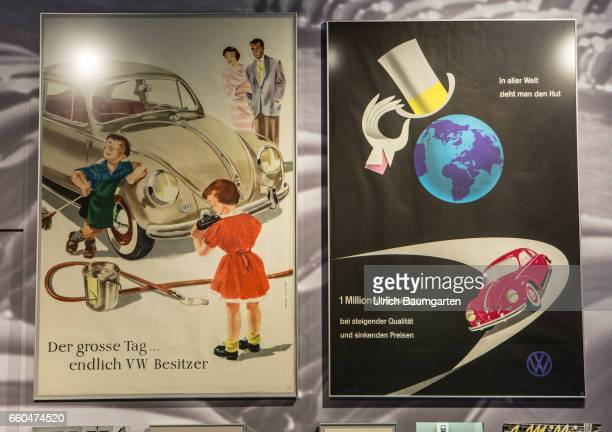 Loved Used Hated The Germans and their cars Exhibition at the Haus der Geschichte of the Federal Republic of German in Bonn Historical posters VW...